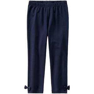 Mädchen Capri-Leggings mit Zierschleifen