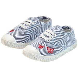 Baby Sneaker im Streifen-Look