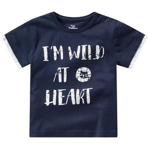 Baby T-Shirt mit Message-Print