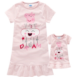 Peppa Pig Nachthemd und Puppennachthemd