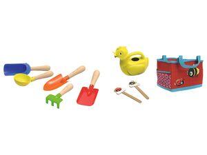 PLAYTIVE® JUNIOR Kinder Gartenkleingeräte, 9-teiliges Set, ab 3 Jahren