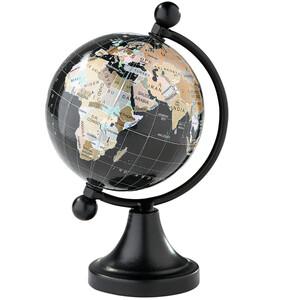 Kleiner Deko-Globus, ca. 15 cm hoch