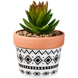 Kunstpflanze im Terrakottatopf