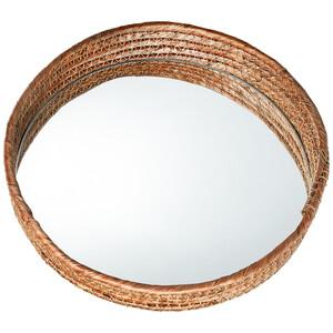Deko-Tablett mit Spiegel