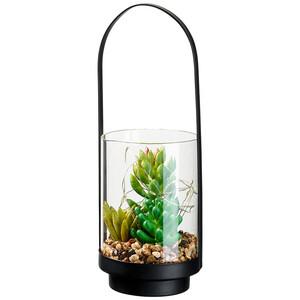 LED-Leuchte mit künstlicher Pflanze