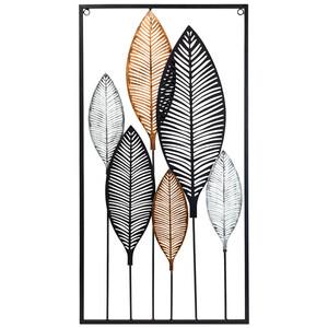 Deko-Wandelement mit Blätter-Motiv