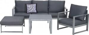 Primaster Lounge-Set Limone ,  inkl. Sitz- und Rückenkissen