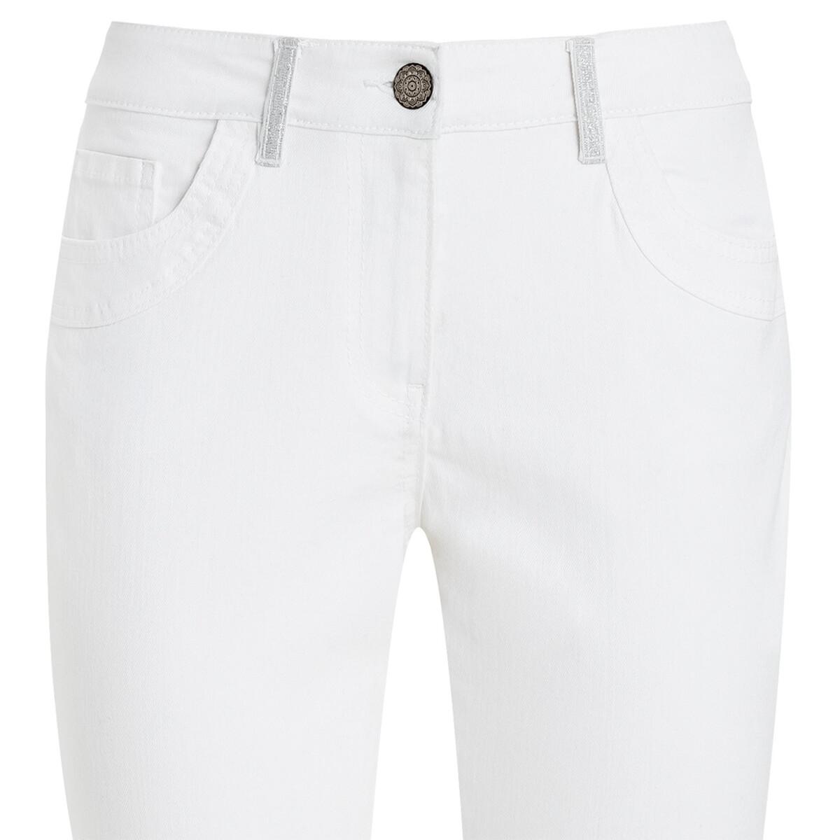 Bild 3 von 7/8 Damen Slim-Jeans mit Glitzerdetails