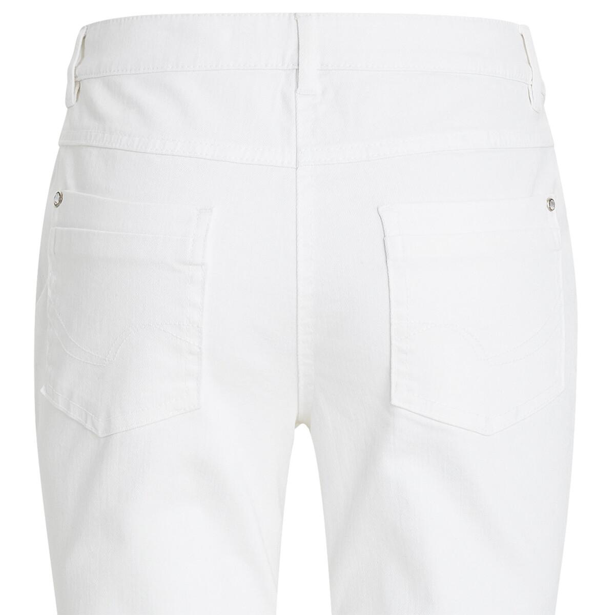 Bild 4 von 7/8 Damen Slim-Jeans mit Glitzerdetails