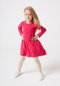 Sweatkleid  pink Gr. 128 Mädchen Kleinkinder