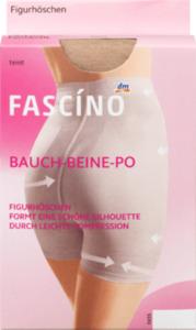 FASCÍNO Figurhöschen, teint, Gr. 40/42