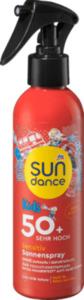 SUNDANCE Kids Sensitiv Sonnenspray Feuerwehr LSF 50+