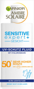 Garnier  Ambre Solaire Sensitive expert+ Gesicht Super UV Fluid LSF 50+ 40ml