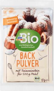 dmBio Backpulver mit Reinweinstein