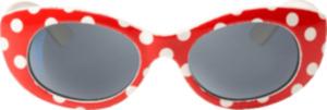 SUNDANCE Sonnenbrille für Kinder Rot gepunktet