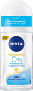 NIVEA Deo Roll On Deodorant fresh summer
