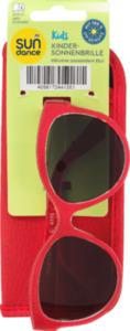 SUNDANCE Sonnenbrille für Kinder mit passendem Etui Rot