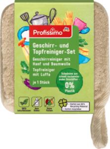 Profissimo Geschirr- und Topfreiniger Set