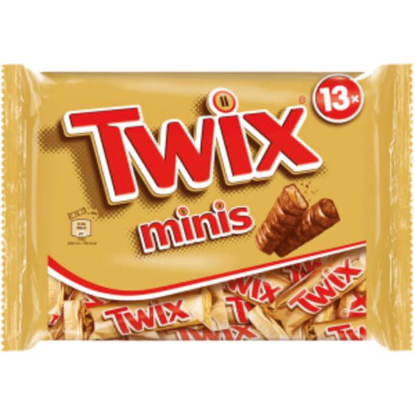 Mars, Snickers oder Twix Minis