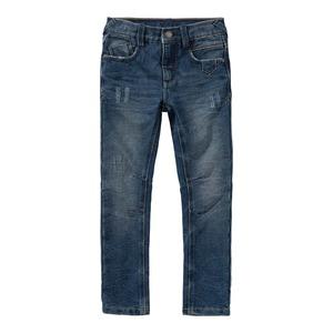 Jungen-Jeans mit Destroy-Effekten