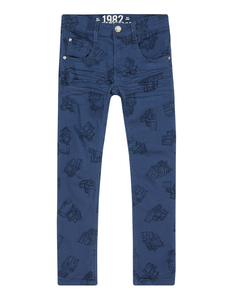Jungen Skinny Fit Jeans aus Coloured Denim