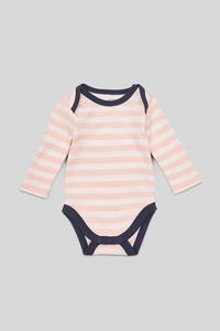 Baby-Body - Bio-Baumwolle - gestreift