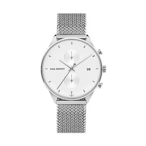 Paul Hewitt Chronographmet Chrono Line White Sand PH-C-S-W-50S