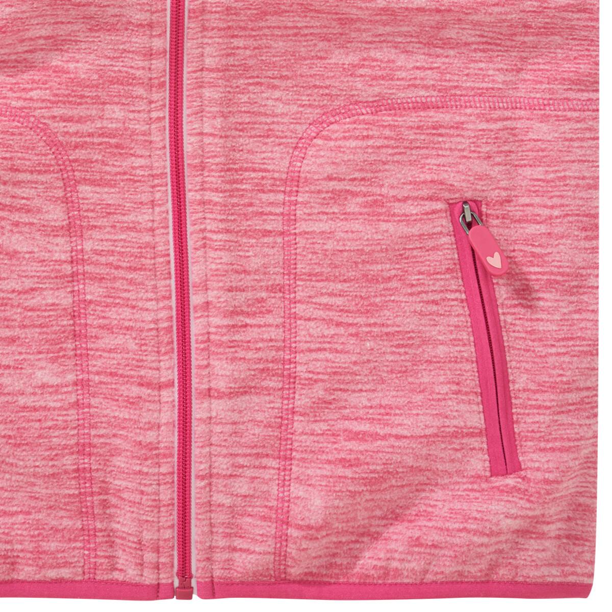 Bild 3 von Mädchen Fleeceweste mit zwei Taschen