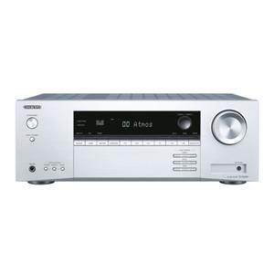 ONKYO TX-SR 494-S - 7.2-Kanal AV-Receiver (silber) (160 Watt/Kanal, Dolby Atmos, Hi-Res Audio, Bluetooth)