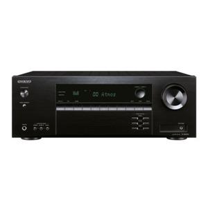 ONKYO TX-SR 494-B - 7.2-Kanal AV-Receiver (schwarz) (160 Watt/Kanal, Dolby Atmos, Hi-Res Audio, Bluetooth)