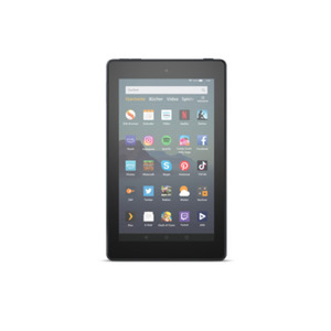 Amazon Fire Tablet 7 mit Alexa Hands-free (2019) 32 GB, 7 Zoll IPS-Display, mit Spezialangeboten, schwarz