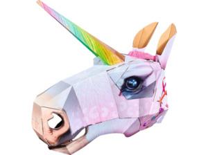 SIMBA TOYS Wild Cards Einhorn Maske, Mehrfarbig