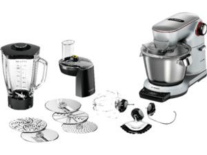 BOSCH E Küchenmaschine Platin/Silber 1500 Watt