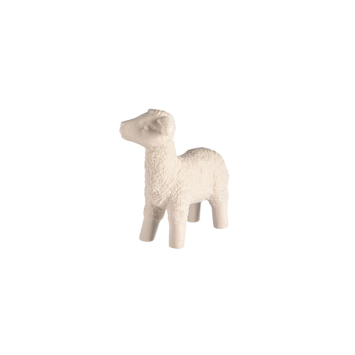 Bild 2 von Dekofigur Schaf stehend, D:16cm x H:15,5cm, weiß