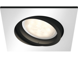 PHILIPS 5042148P8 Hue Milliskin LED Einbauspot, Aluminium