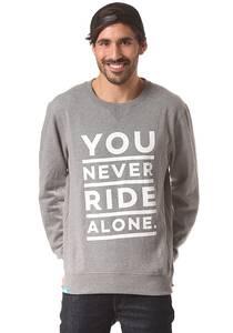 PLANET SPORTS YNRA Font Crew - Sweatshirt für Herren - Grau
