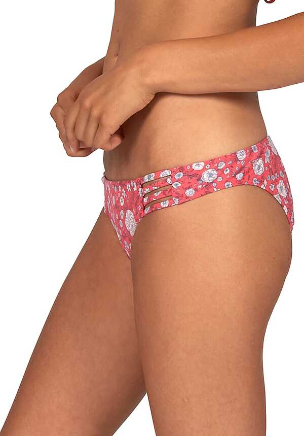 BILLABONG Sol Searcher Tropic - Bikini Hose für Damen - Rot