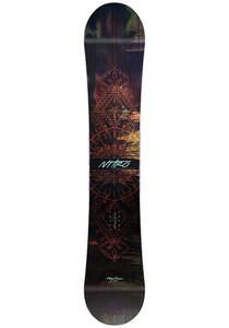 NITRO Mystique 146cm - Snowboard für Damen - Mehrfarbig