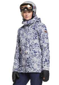 Roxy Glade Print - Snowboardjacke für Damen - Grau