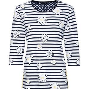Olsen Sweatshirt, 3/4-Arm, sportive Streifenapplikation, für Damen