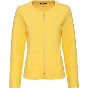Olsen Jersey-Shirtjacke, Struktur, Reißverschluss, für Damen