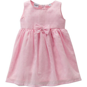 Manguun Kleid, Schleife, Reißverschluss, Unterrock, für Baby Mädchen