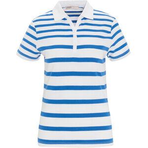 Adagio Poloshirt, Ringel, für Damen