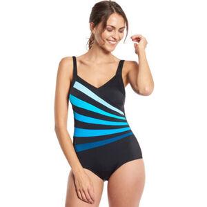 Desirée Badeanzug, Streifen-Muster, für Damen