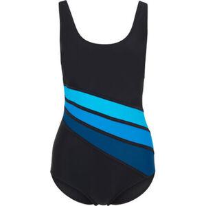 Desirée Badeanzug, diagonale Streifen, sportlich, für Damen