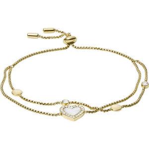 "Fossil Damen Armband Vintage Glitz ""JF03216710"", Edelstahl"