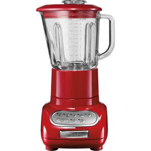 Kitchenaid Standmixer Artisan 5KSB5553EER, Spritzgussmetall, Glasbehälter 1,5 l, empire rot