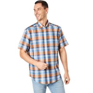 Dunmore Freizeithemd, 1/2 Arm, Button Down, Comfort Fit, für Herren