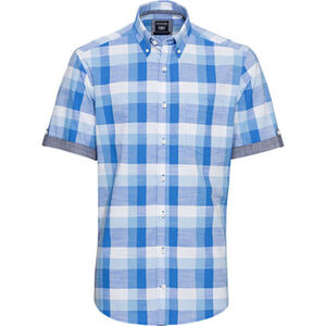 Dunmore Freizeithemd, 1/2 Arm, Button Down, Modern Fit, für Herren