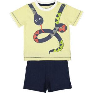 Manguun Set, T-Shirt, Hose, Schlange, für Baby Jungen